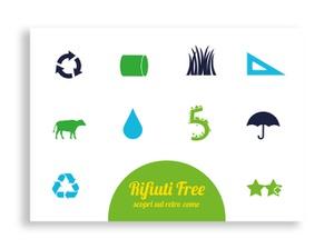 card, rifiuti, sostenibilità