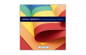 Marini, folder, prodotti postali
