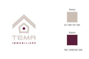 tema immobiliare logo